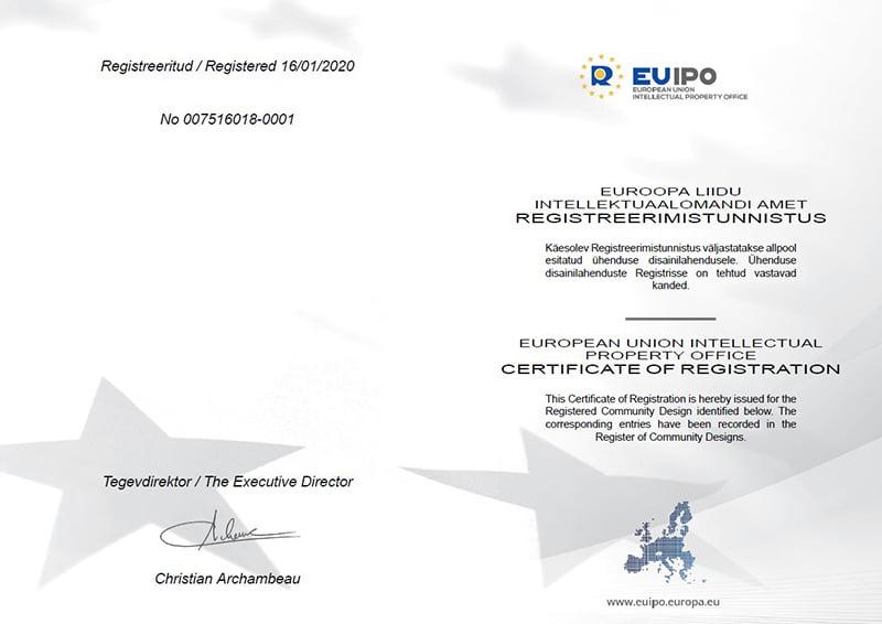 Euroopa Liidu sertifikaat